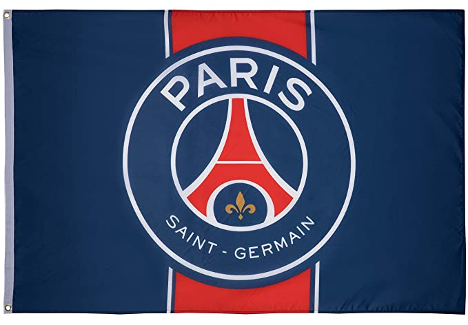 PARIS SAINT GERMAIN Drapeau PSG - Collection officielle  Amazon.fr  Sports  et Loisirs e866e9c80e5