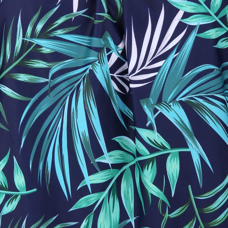 Yonique Womens 2 Piece Blouson Tankini Swimsuits Floral Bathing Suit Tops Modest Swimwear