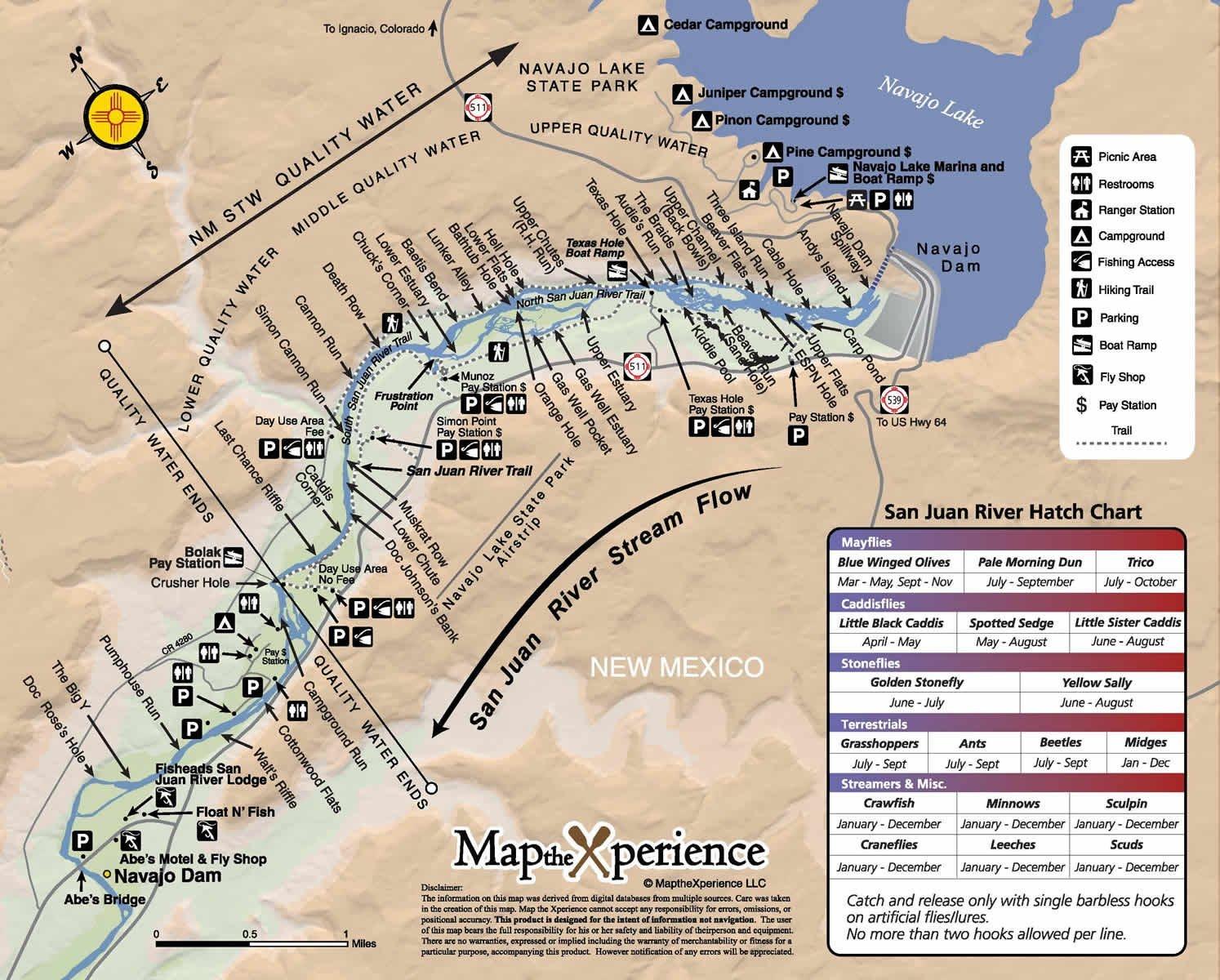 Amazon.com : San Juan River New Mexico 15x11
