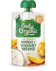 Only Organic Mango & Yoghurt Brekkie  8+ Months - 120g