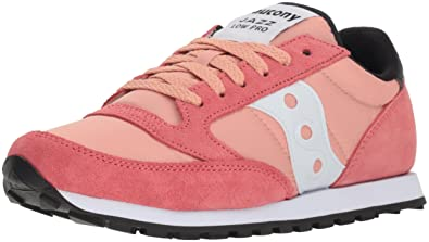 db72d113 Saucony Originals Women's Jazz Lowpro Sneaker, Seafoam/Orange/Silver