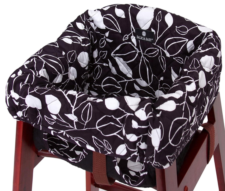 Strange Balboa Baby High Chair Cover Black And White Leaf Discontinued By Manufacturer Spiritservingveterans Wood Chair Design Ideas Spiritservingveteransorg