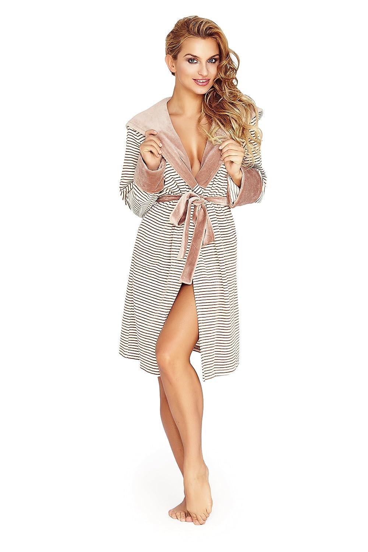 Womens Luxury SOFT Bath Robe Housecoat Dressing Gown Bathrobe