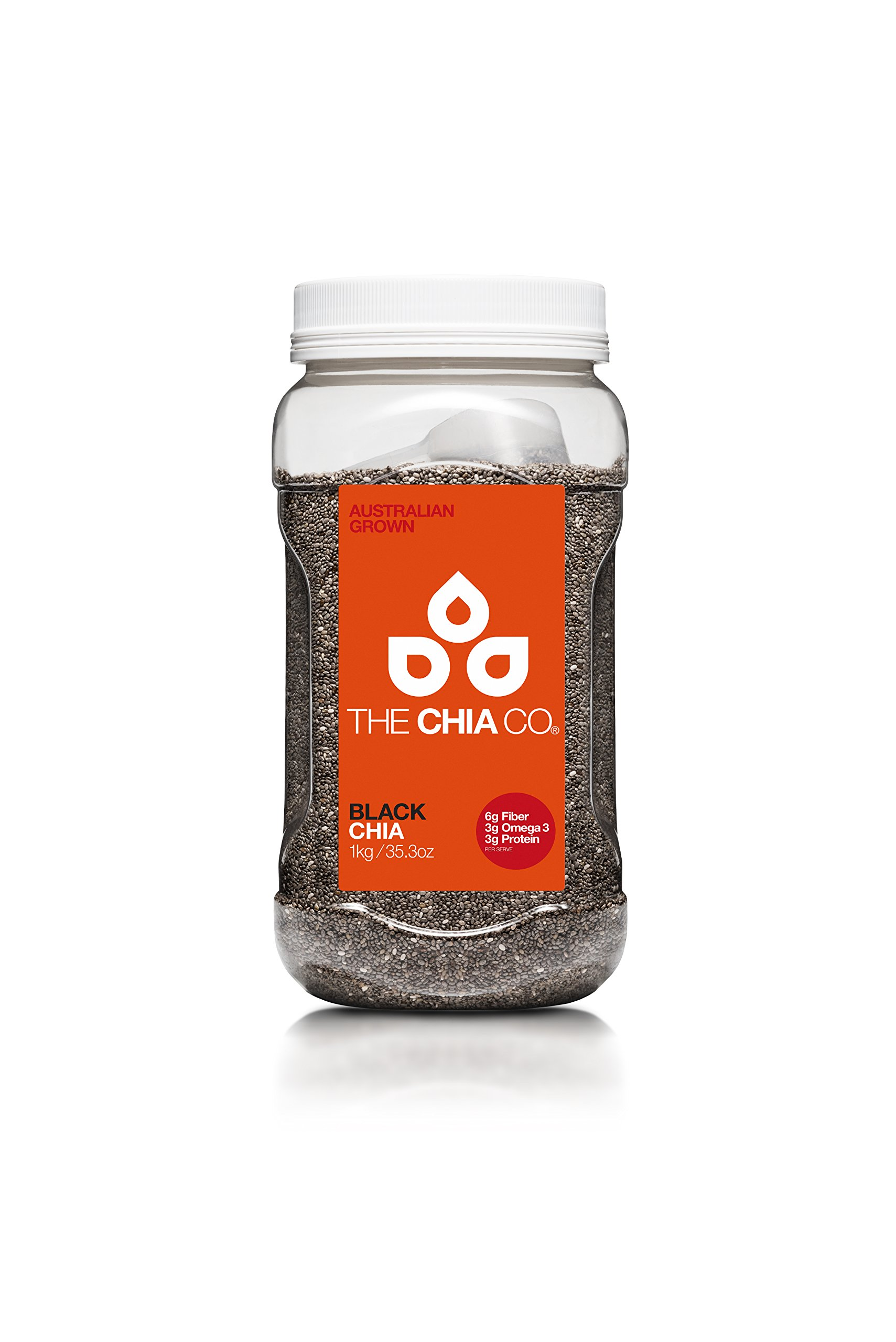The Chia Co Black Chia, 35.3 Ounces