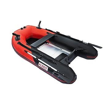 ALEKO btf250rbk Pro barco de pesca Balsa 8.4 pies con suelo ...