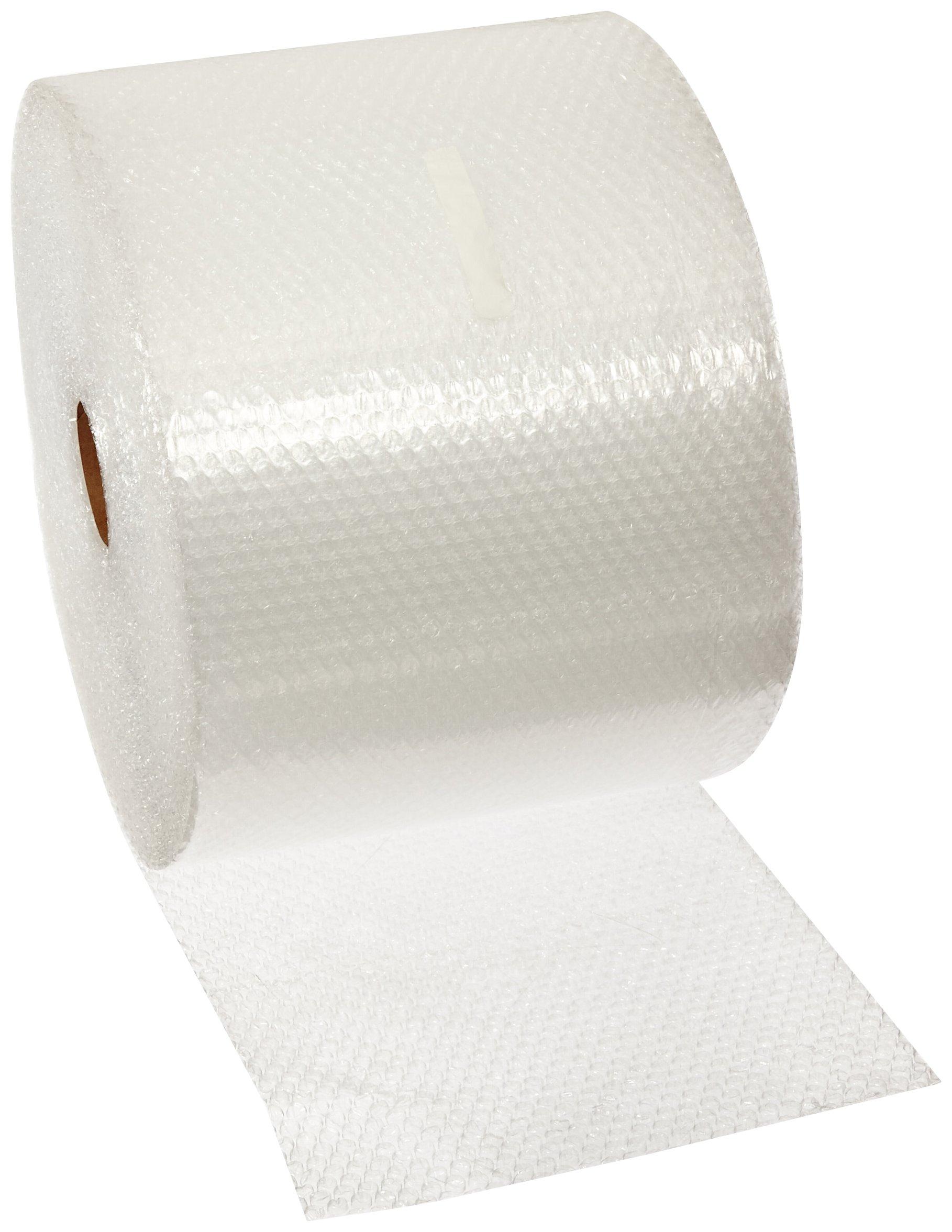 Pratt Polyethylene Economy Perforated Bubble Roll, PRA3266032,  175' Length x 12'' Width, 3/16'' Thick, Clear