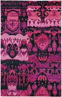 product image for Capel Round About-Juggler Bubblegum 8' x 10' Rectangle Hand Knotted Rug