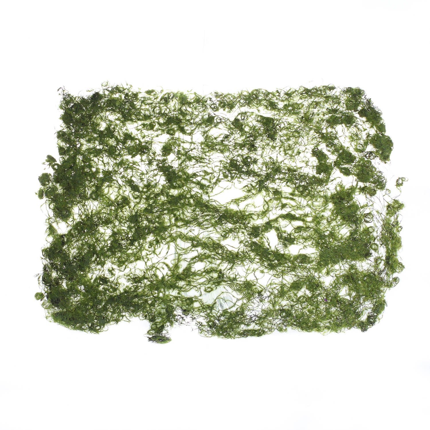 Factory Direct Craft Set of 2 Artificial Moss Sheets for Embellishing Craft Projects, Fairy Gardens, and Displays