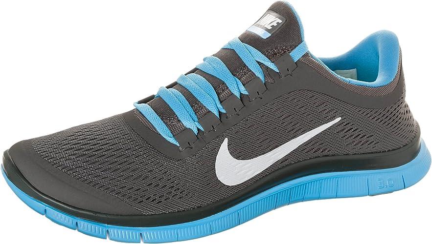 Escribe un reporte ayer Derivación  Nike Free 3.0 V5, Herren Laufschuhe - grau - blau 40 1/2: Amazon ...
