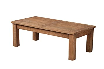 The Wood Times Couchtisch Massiv Vintage Look New Rustic ...