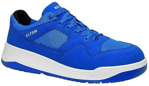 best sneakers 77d70 8986f ELTEN Sicherheitsschuhe MAVERICK blue Low ESD S1P, Herren, sportlich,  Sneaker, leicht, blau, Stahlkappe - Größe 38