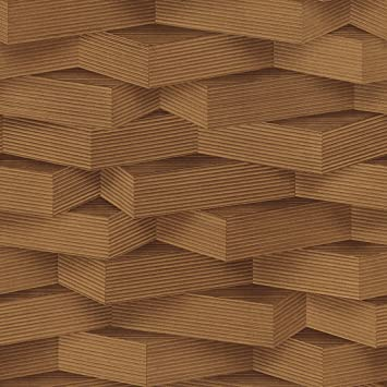 Excel Wallpapers 3d Wooden Design Vinyl With Non Woven Back