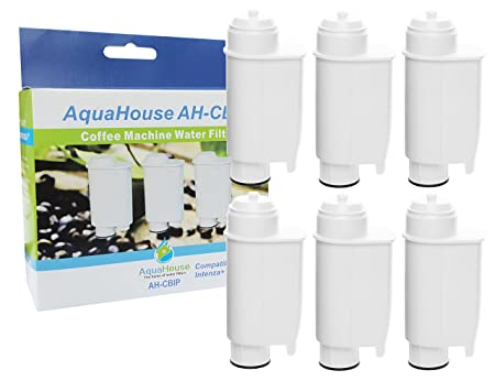 6x AquaHouse AH-CBIP Compatible para Brita Intenza + / Philips ...