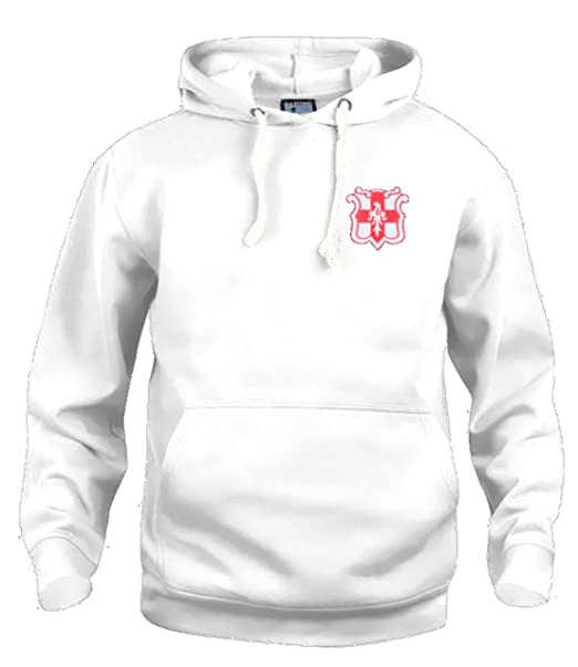 Retro Lincoln City Imps 1950/Años 60 Sudadera De Futbol Logotipo Bordado CH-2EG - Blanco, XXX-Large: Amazon.es: Ropa y accesorios