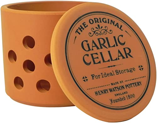 Henry Watson Garlic Keeper, Terracotta