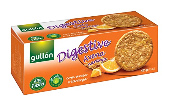 Galletas de avena gullon