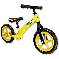 Zoomy Leisure Kids Aluminium Balance Bike. Super Light Weight. Suitable for Children from 18 Months to 5 Years - Yellow