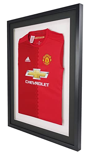 Vivarti DIY Mounted Sports Shirt Display Frame 60 x 80cm - Black ...