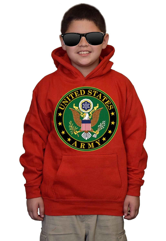 Youth US Army Sealng Red kids Sweatshirt Hoodie