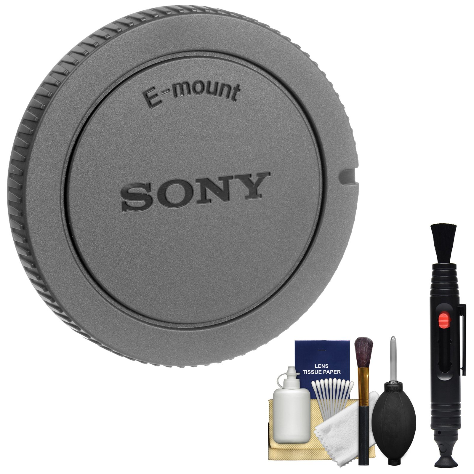 Sony ALC-B1EM E-Mount Camera Body Cap with Cleaning Kit