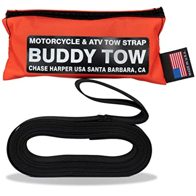 "Chase Harper USA 9100 - Buddy Tow - Tough military spec nylon webbing (1785 lb. test) 12' x 1"" - Orange: Automotive"