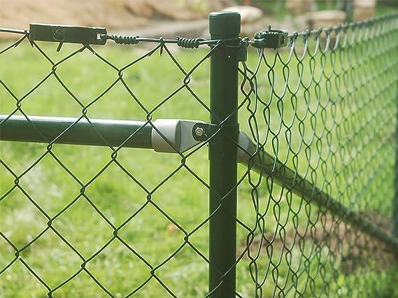 Berühmt Maschendrahtzaun Komplettset Drahtzaun Gartenzaun Maschendraht RN64