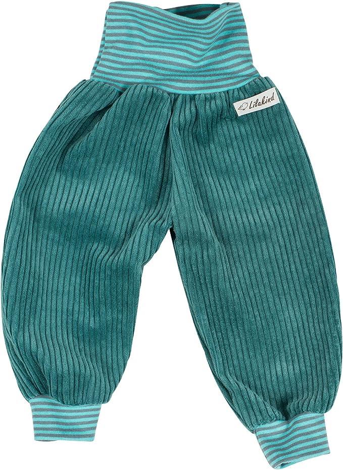 Made in Germany 50-140 Lilakind Cord Pumphose Jungen Hose Babyhose Cordhose Taschen Unisex Gr/ün Gr