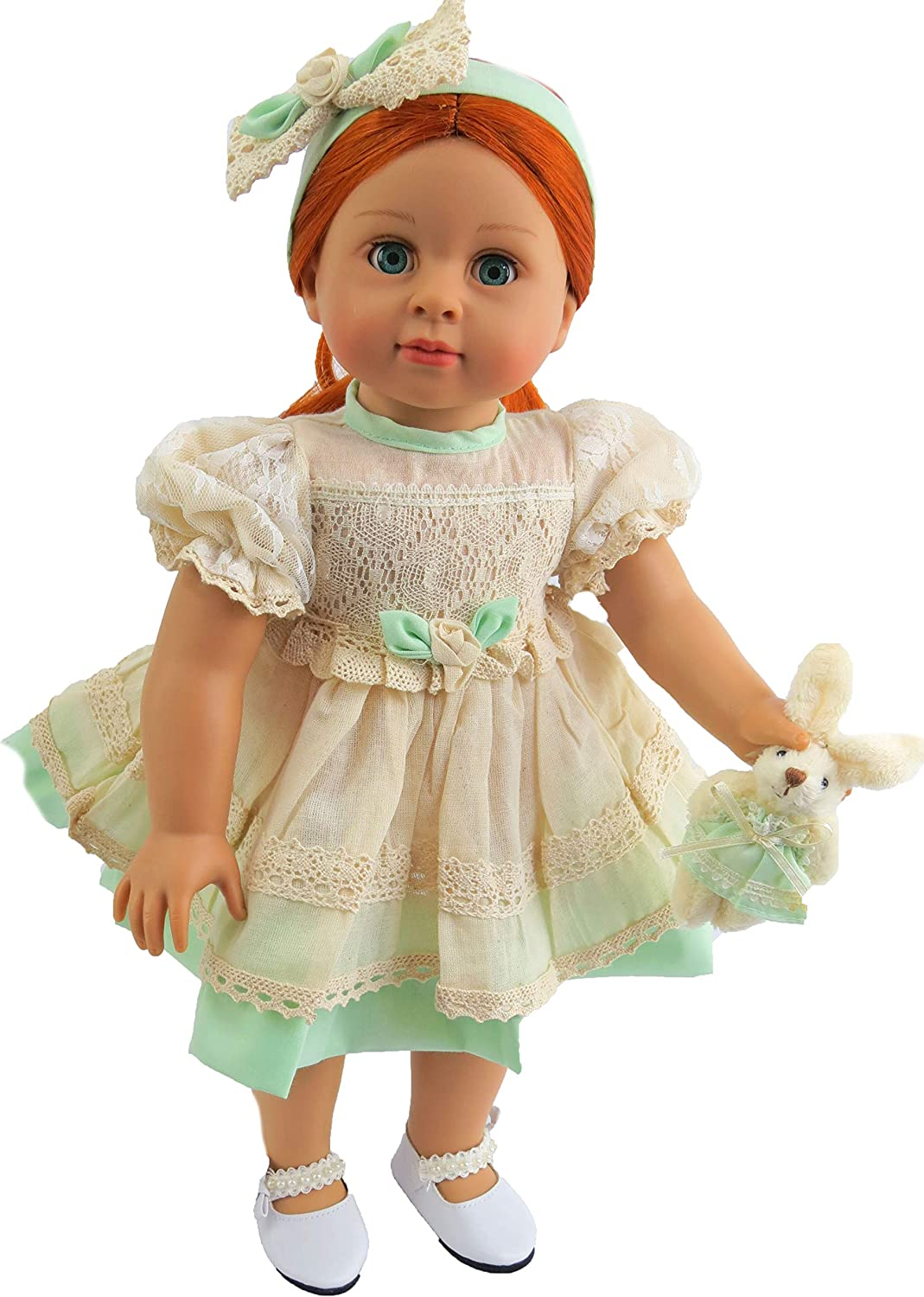 "Fits 18/"" American Girl Madame Alexander Handmade Doll Clothes dress"