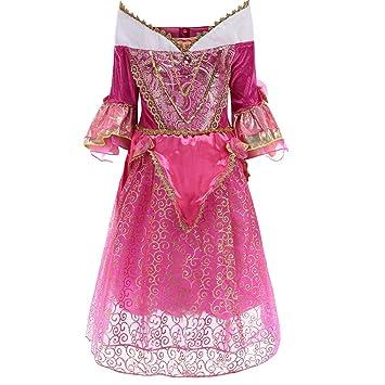 29b7b4a78bf Robe Princesse Fille Hiver