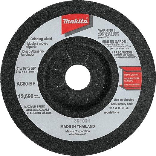 Makita 741421-B-10 9-inch Grinding Wheel 10 Pack