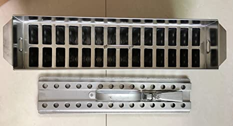Acero inoxidable Hielo Crema moldes ataforma tipo 2 x 14 28 moho 63 ml Brida incluido