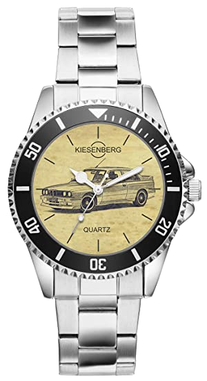 Regalo para BMW E30 Fan Conductor Kiesenberg Reloj 20365: Amazon.es: Relojes