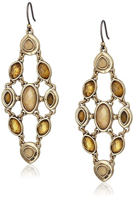 Amazon lucky brand citrine and mother of pearl chandelier lucky brand citrine and mother of pearl chandelier earrings mozeypictures Gallery