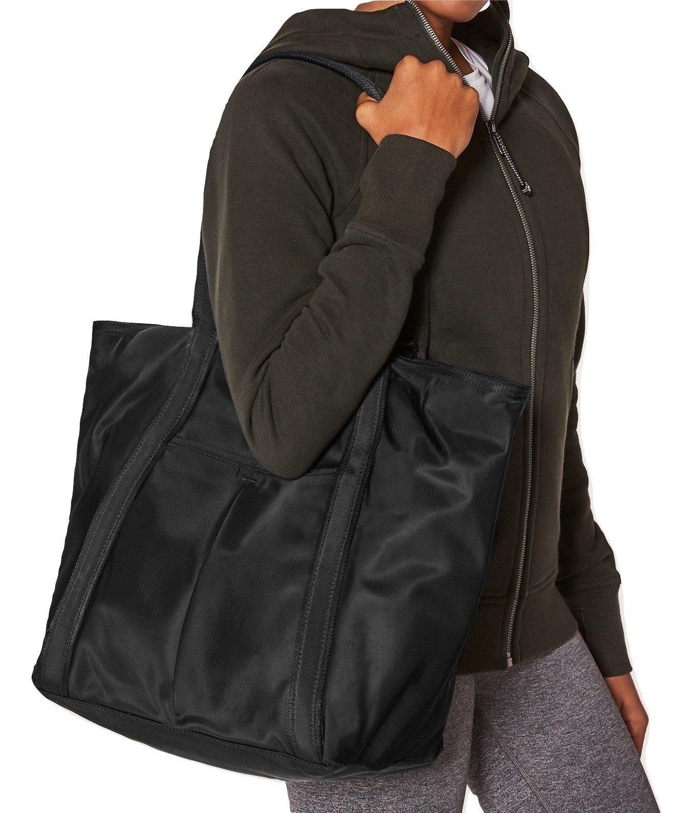 Lululemon Live Free Tote Bag (Black)