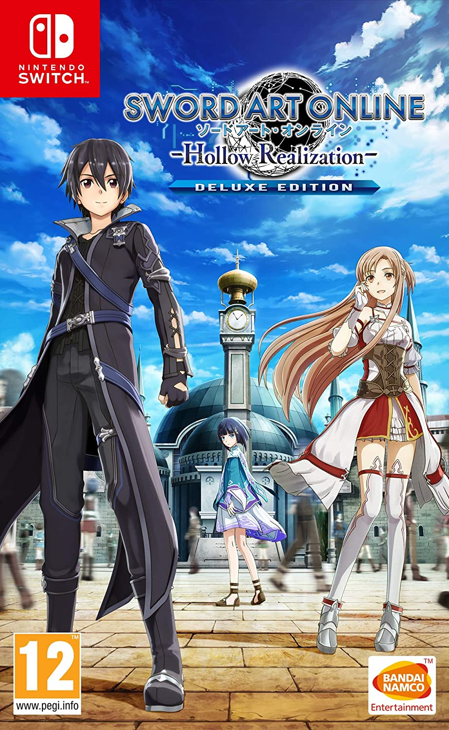 Sword Art Online: Hollow Realization [SWITCH] : Deluxe Edition | Bandai Namco Entertainment