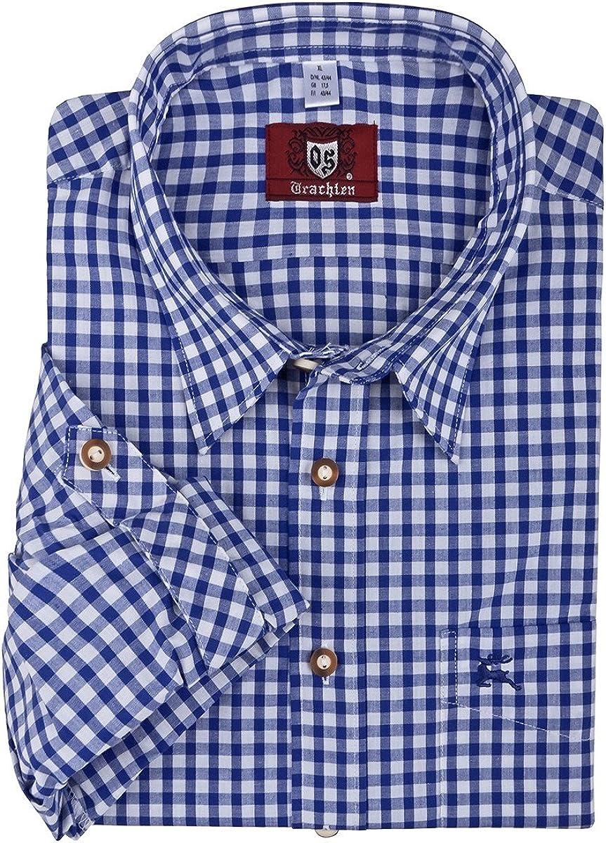 Camisa de traje típico cuadriculada Orbis tallas XXL, 45/46-55 ...