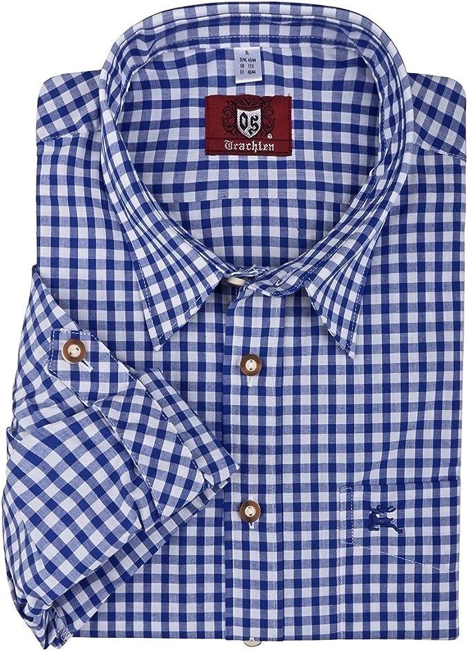 Camisa de traje típico cuadriculada Orbis tallas XXL, 45/46 ...