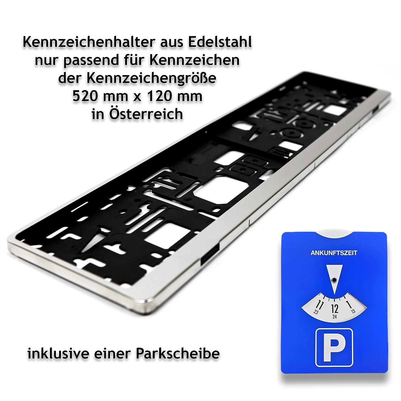 Antmas 1 Edelstahl Kennzeichenhalter   Kennzeichenrahmen Nur passend ...
