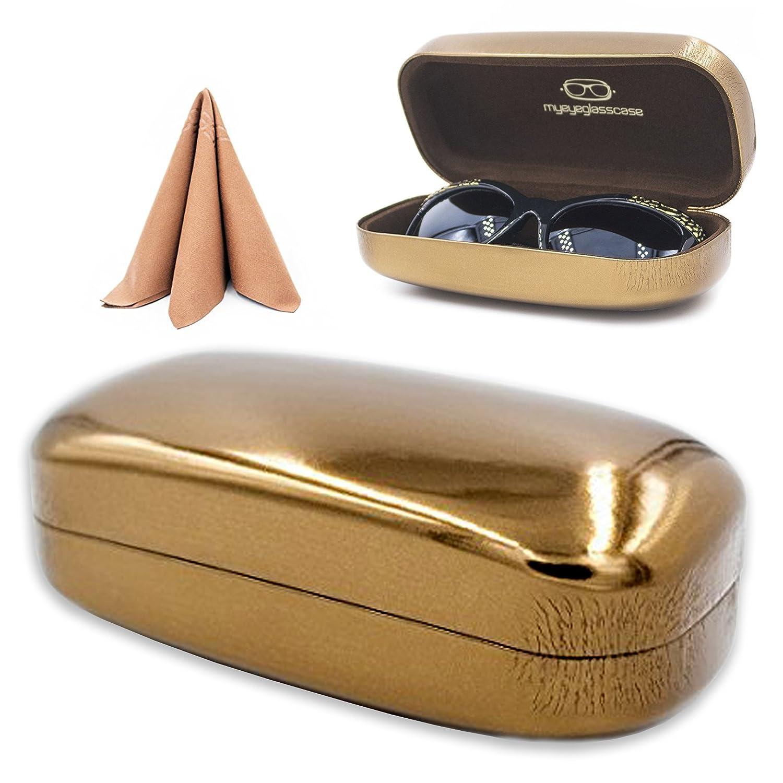 Oversized Sunglasses Case Mens Womens Glasses DG Eyewear MyEyeglassCase AS179D2BLK