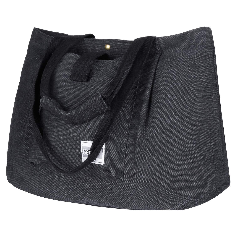 Gemeer Tote Bag, Canvas Large Handbags