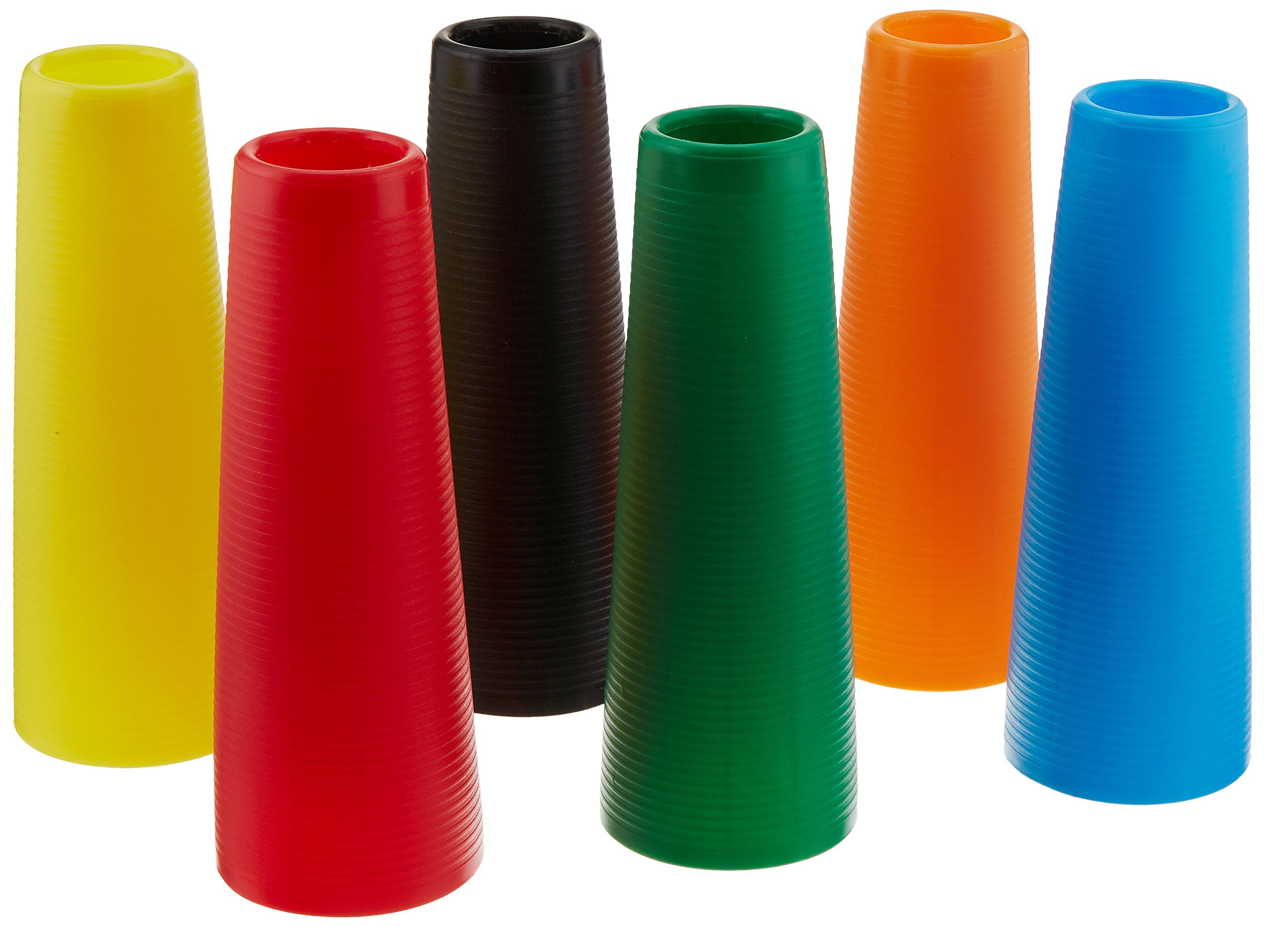 Sammons Preston Plastic Large Stack Cones, Medical Rehabiliation and Activity Exercise for Recovery, Funtional Hand Therapy for Upper Extremity, Hand-Eye Coordination, Set of 30 by Sammons Preston (Image #1)