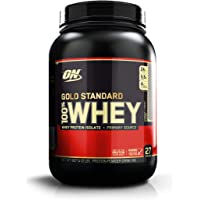 Optimum Nutrition Gold Standard 1 Whey Cookies & Cream Protein Powder, 909 Grams