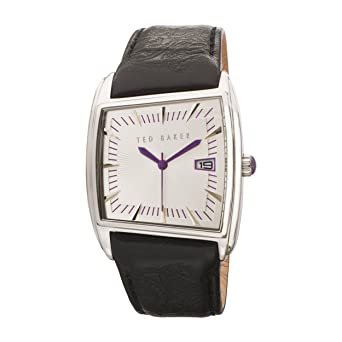 d45000c80c3d Ted Baker TE1003 Gents black leather strap watch  Ted Baker  Amazon.co.uk   Watches