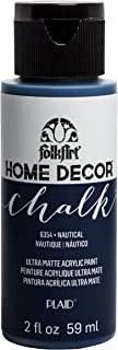 product image for FolkArt Home Décor Chalk Furniture & Craft Paint in Assorted Colors, 2oz, Nautical