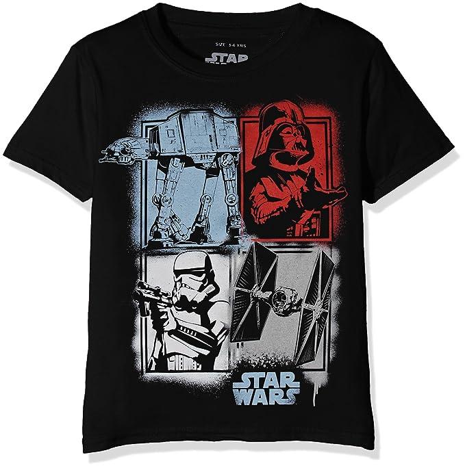 Star Wars Spray Baddies, Camiseta para Niños: Amazon.es: Ropa y accesorios