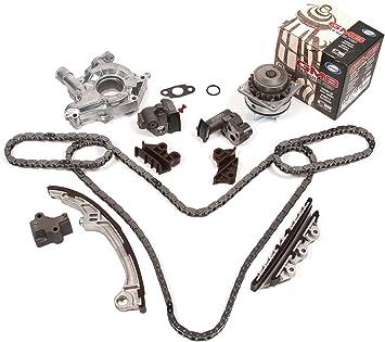 Fit 01-04 Nissan Pathfinder Infiniti QX4 3.5L Timing Chain Oil Pump Kit VQ35DE