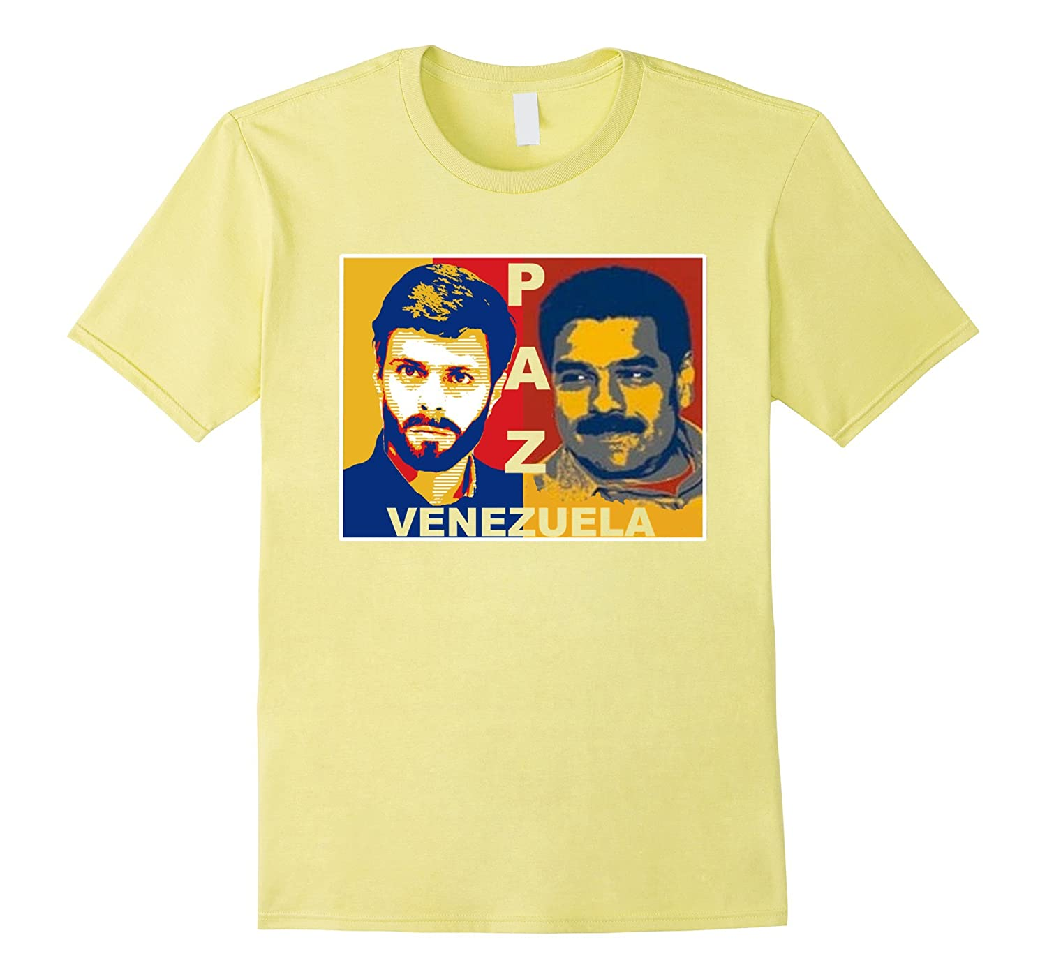 Paz Venezuela T-Shirt Pray Support Stand Peace Top Tee-Teehay