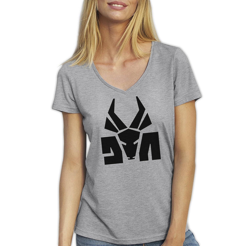 Die Antwoord Top Rap Star Ninja Yolandi Logo Gris T-Shirt ...