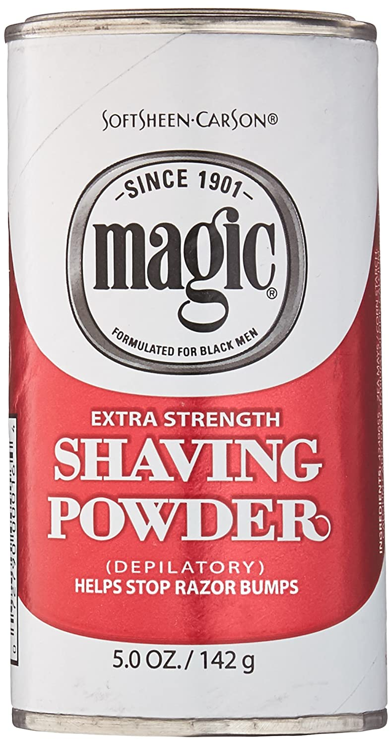 Magic Red Shaving Powder 4.5oz. X-Strength Depilatory (2 Pack)