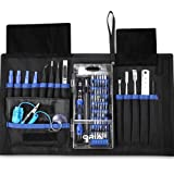 76 in 1 Magnetic Screwdriver Set, Oria Precision Screwdriver Set with 60 Bits, Electronics Repair Tool Kit, S2 Steel Repair Tool Kit for Phone, Tablets, PC, Watches, Glasses &Other Devices with Portable Box